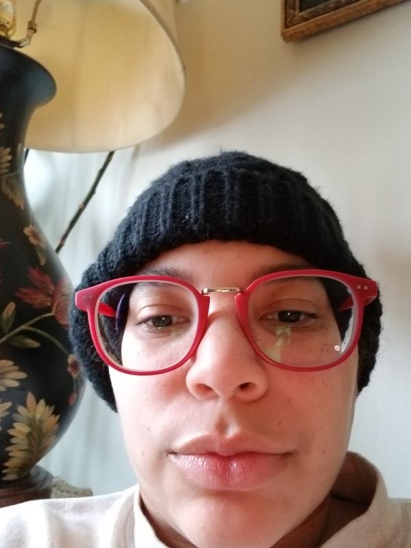Kayla - Matte Pink - square - plastic