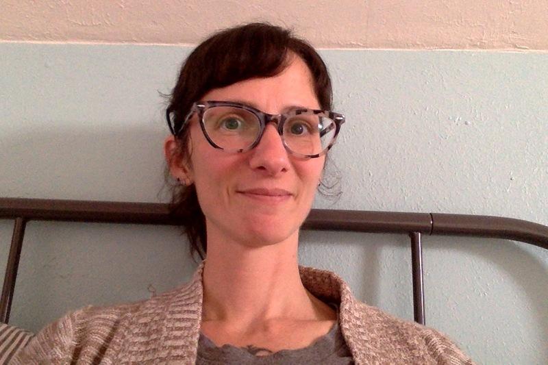 Melissa S. - Gray - horn - acetate
