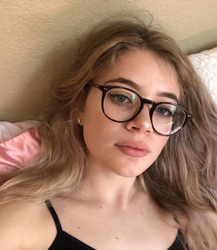 Jenna K. - Tortoise - round - acetate