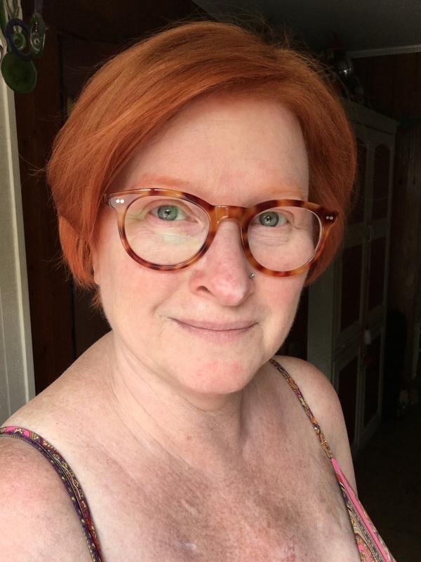 Janet P. - Cinnamon Tortoise - wayfarer - acetate