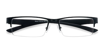 Black Macon -  Metal Eyeglasses