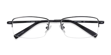 Black Craig -  Metal Eyeglasses