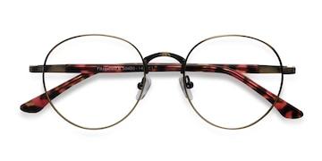 Bronze Fitzgerald -  Vintage Metal Eyeglasses