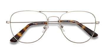 Gunmetal Harrier -  Vintage Metal Eyeglasses