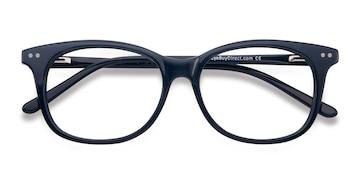 Navy Brittany -  Acetate Eyeglasses