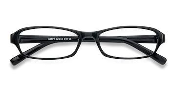 Black  Adept -  Classique Plastique Lunettes de Vue