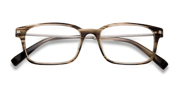 Brown/Striped Dreamer -  Fashion Acetate Eyeglasses