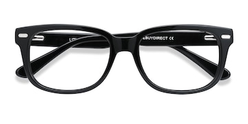 Black Little John -  Acetate Eyeglasses