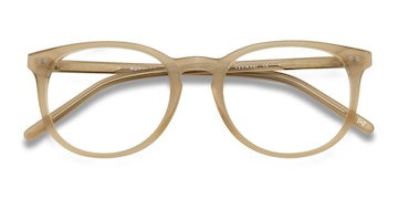 Matte Champagne Aura -  Fashion Acetate Eyeglasses