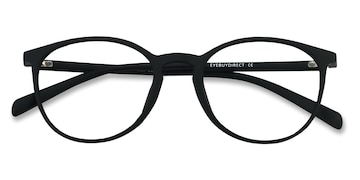 Matte Black Dinah -  Fashion Plastic Eyeglasses