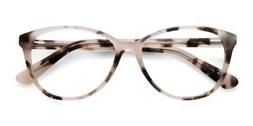 Ivory Tortoise Hepburn -  Vintage Acetate Eyeglasses
