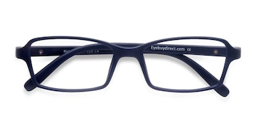 Matte Navy Ricki -  Plastic Eyeglasses