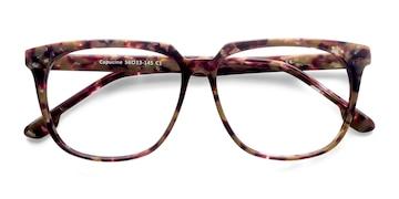 Red Floral Capucine -  Fashion Acetate Eyeglasses