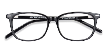 Black Seapoint -  Acetate Eyeglasses
