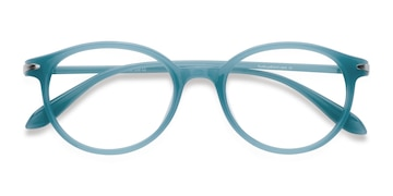 Bleu Indigo -  Plastique Lunettes de Vue