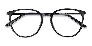 Black Naomi -  Metal Eyeglasses