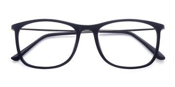 Black Hurricane -  Classic Plastic Eyeglasses