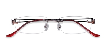 c58843db3d3 Brown Ottawa - Lightweight Metal Eyeglasses