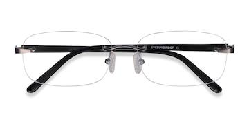 Gunmetal Vernon -  Lightweight Acetate Eyeglasses