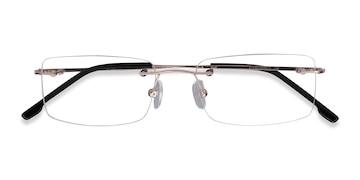 Golden  Woodrow -  Lightweight Metal Eyeglasses