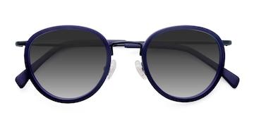 Matte Navy Siena -  Vintage Acetate Sunglasses