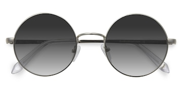 Silver Guru -  Metal Sunglasses