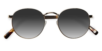 Golden Rex -  Metal Sunglasses