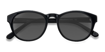 Black Coppola -  Vintage Plastic Sunglasses