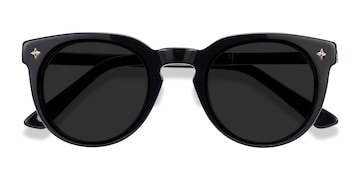 Navy Zoe -  Plastic Sunglasses