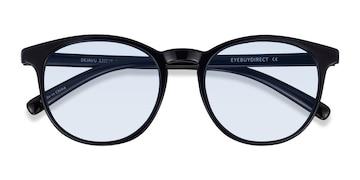 Black Deja vu -  Plastic Sunglasses