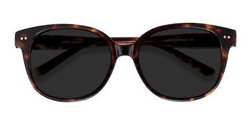 Tortoise  Lune Noire -  Vintage Acetate Sunglasses