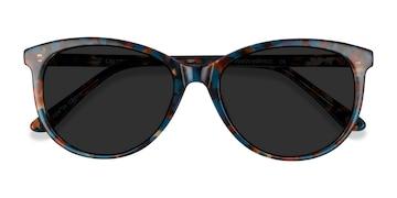 Floral Calypso -  Vintage Plastic Sunglasses