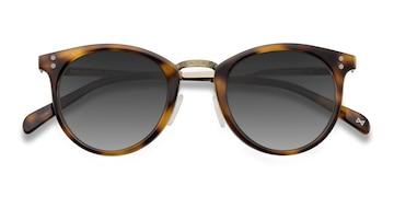Caramel Sun Nostalgia -  Vintage Acetate Sunglasses