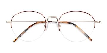 Red Noblesse -  Metal Eyeglasses