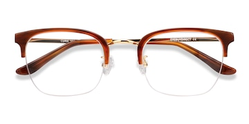 Brown Curie -  Acetate Eyeglasses