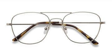 Silver Captain -  Vintage Metal Eyeglasses