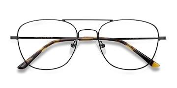 Black Captain -  Classic Metal Eyeglasses