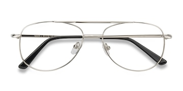 Silver Tasker -  Classic Metal Eyeglasses