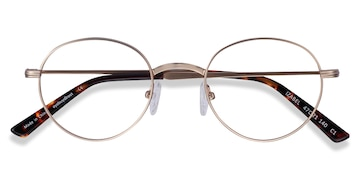Golden Izabel -  Vintage Metal Eyeglasses