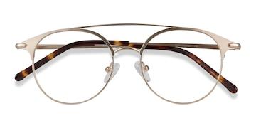 Rose Gold Cosine -  Metal Eyeglasses