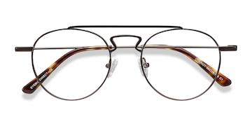 Gunmetal Chariot -  Metal Eyeglasses