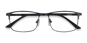 Black WIT -  Metal Eyeglasses