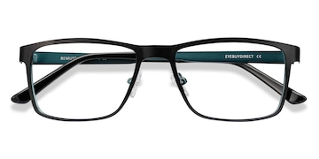Black Bemuse -  Metal Eyeglasses