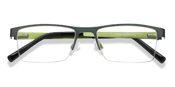 Green  Vine -  Metal Eyeglasses