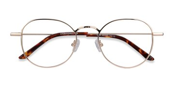 Golden Cori -  Metal Eyeglasses