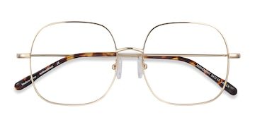 Golden Movement -  Metal Eyeglasses