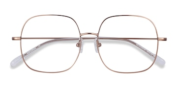 Rose Gold Movement -  Metal Eyeglasses