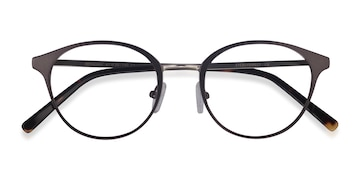 Gunmetal Broadway -  Metal Eyeglasses