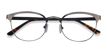 Gunmetal The Works -  Metal Eyeglasses