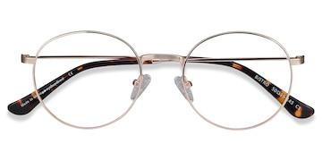 Golden Bistro -  Vintage Metal Eyeglasses